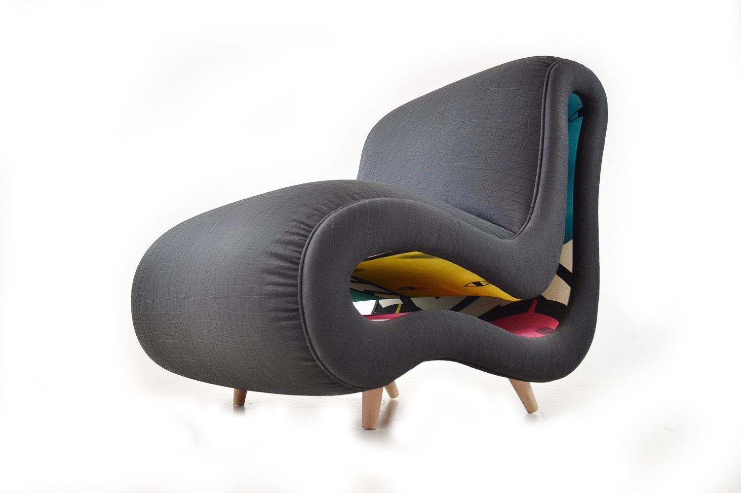 FAUTEUIL DESIGN ARTISAN LUXE ANNECY