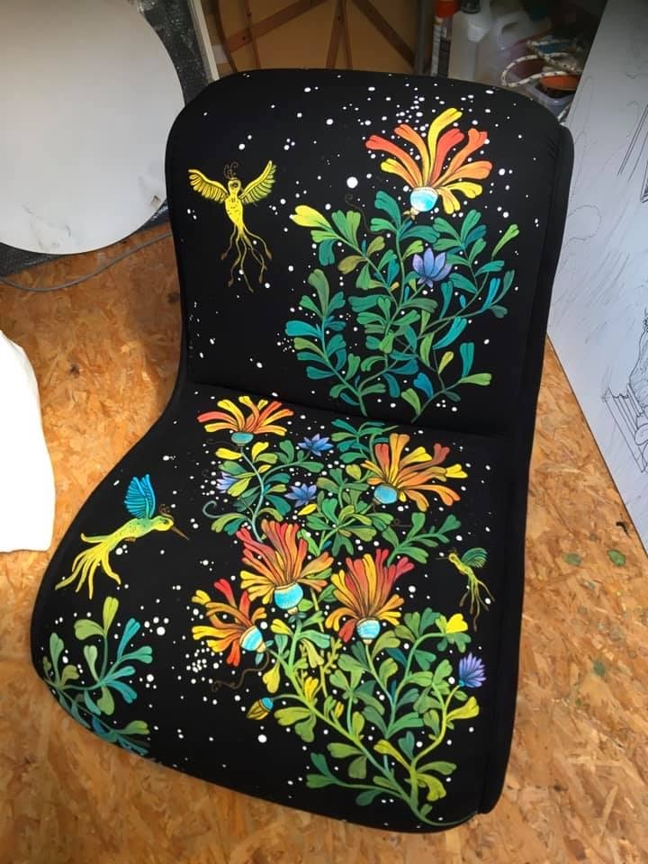 fauteuil design art annecy